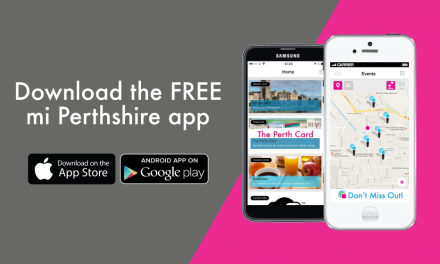 Download the FREE mi Perthshire App