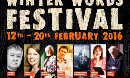 WINTER WORD FESTIVAL 12th – 20th February 2016
