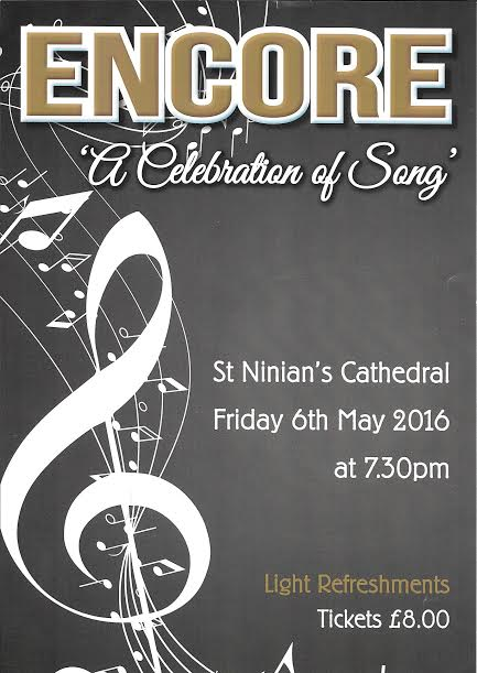 """Encore – A celebration of song"""